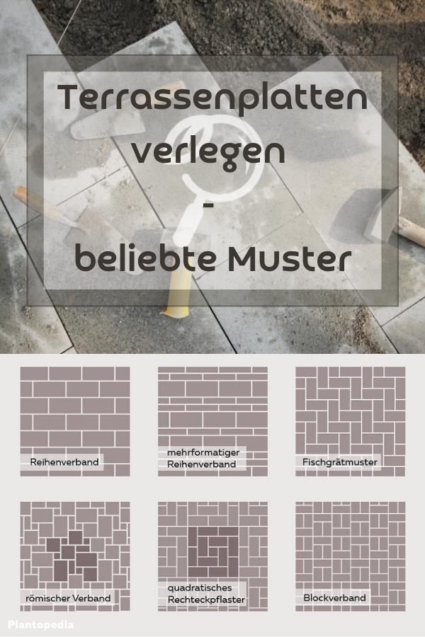 Terrassenplatten Verlegen Beliebte Muster In 2020 Terrassenplatten Verlegen Terrassen Platten