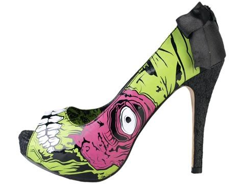 I'm in total love with these heels ... One day I will own the glow in the dark pair :)