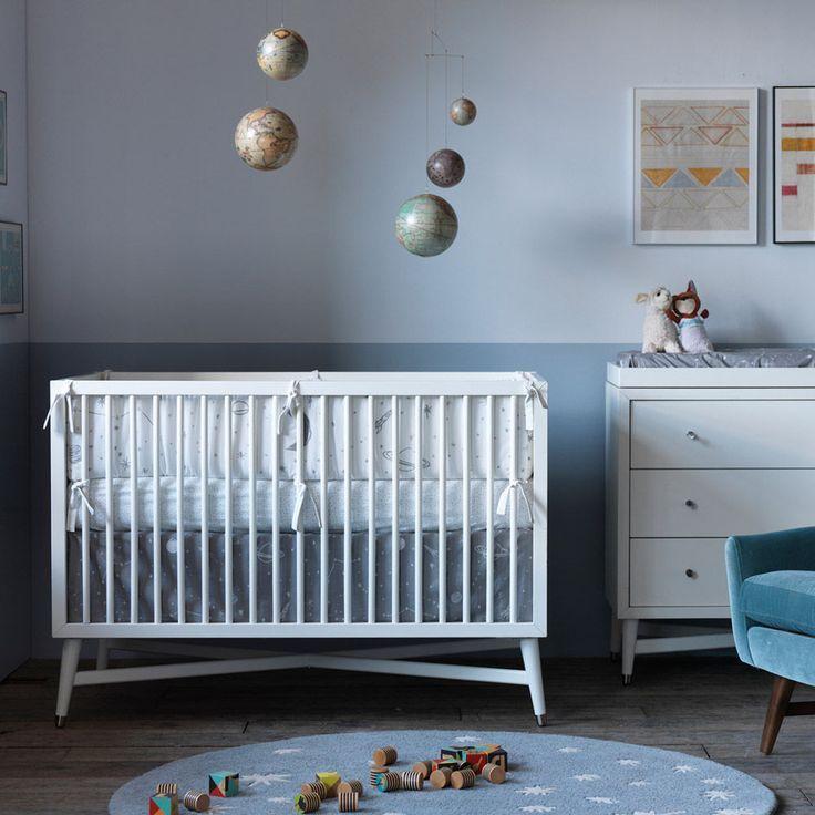 Dwell Studio Midcentury Modern Crib Dwellstudio Crib Skirt