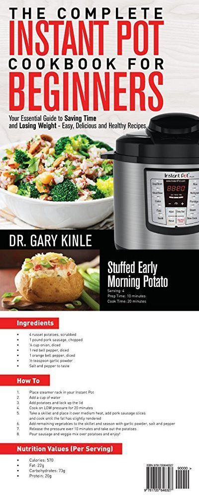 The Complete Instant Pot Cookbook for Beginners: Your Essential Guide to Saving Time and Losing Weight – Easy, Delicious and Healthy Recipes - #beginners #complete #cookbook #essential #guide #instant #saving - #new #instantpotrecipesforbeginners The Complete Instant Pot Cookbook for Beginners: Your Essential Guide to Saving Time and Losing Weight – Easy, Delicious and Healthy Recipes - #beginners #complete #cookbook #essential #guide #instant #saving - #new #instantpotrecipesforbeginners