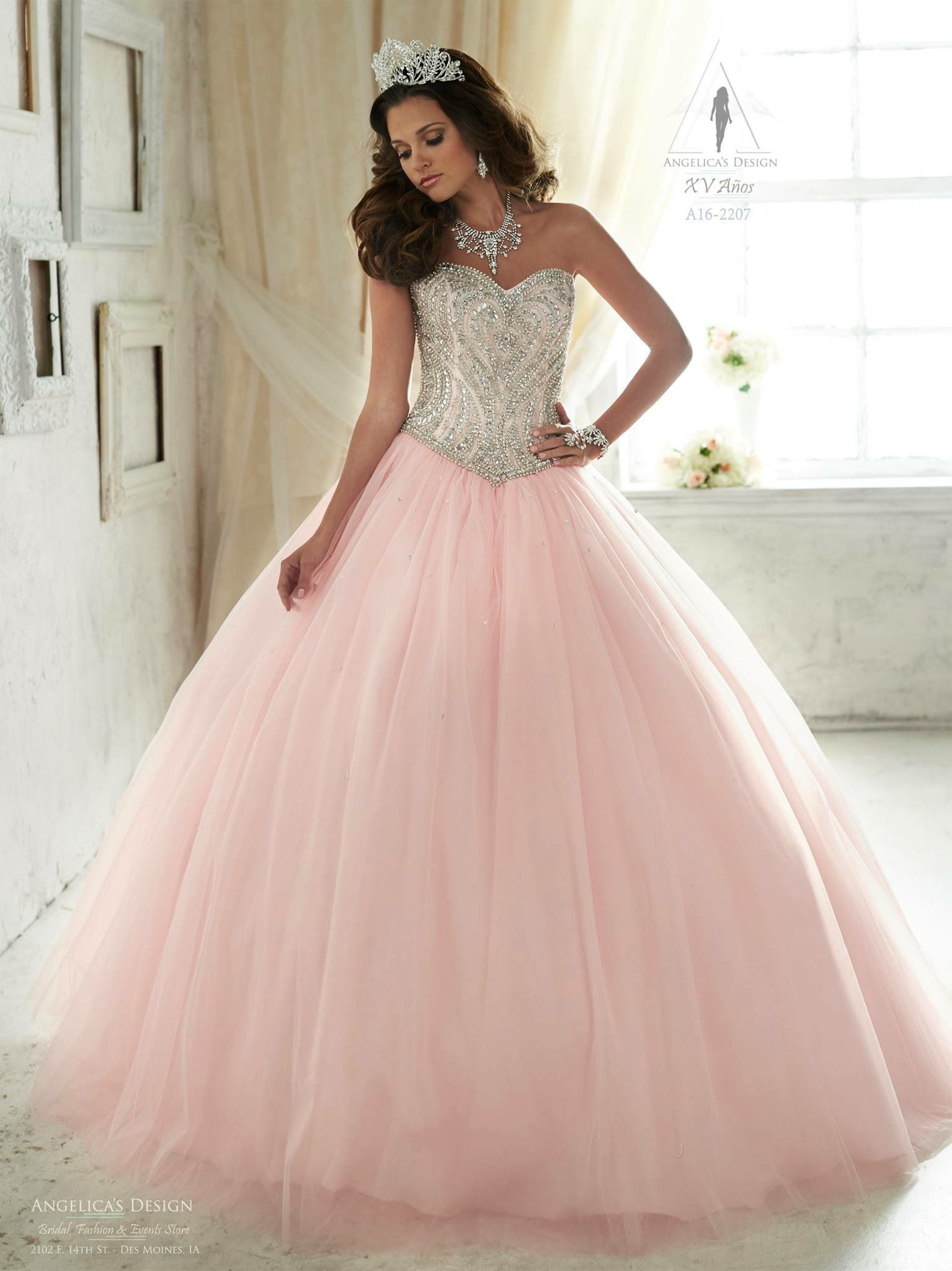 Pin de Morgan en Dresses | Pinterest | Vestido de quince, Remedios ...