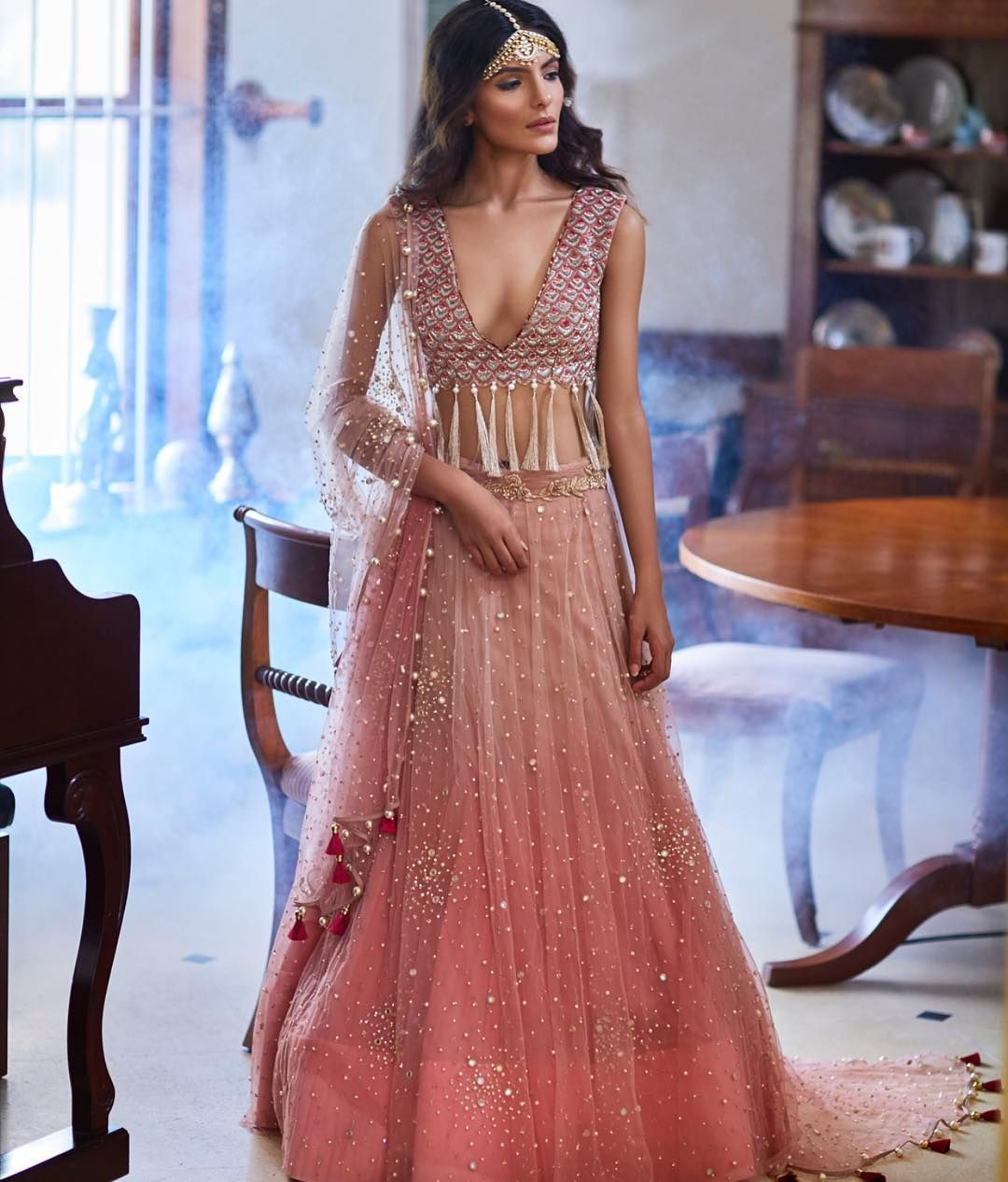 Destination wedding essentials : haute couture lehengas ...