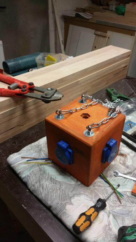 Power Cube für die Werkstatt - Bauanleitung zum Selberbauen - 1-2-do.com - Deine Heimwerker Community #einfacheheimwerkerprojekte