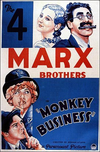 Duck soup The 4 Marx Brothers movie poster print 2