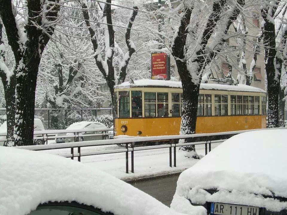 Zimowy tramwaj #Tram