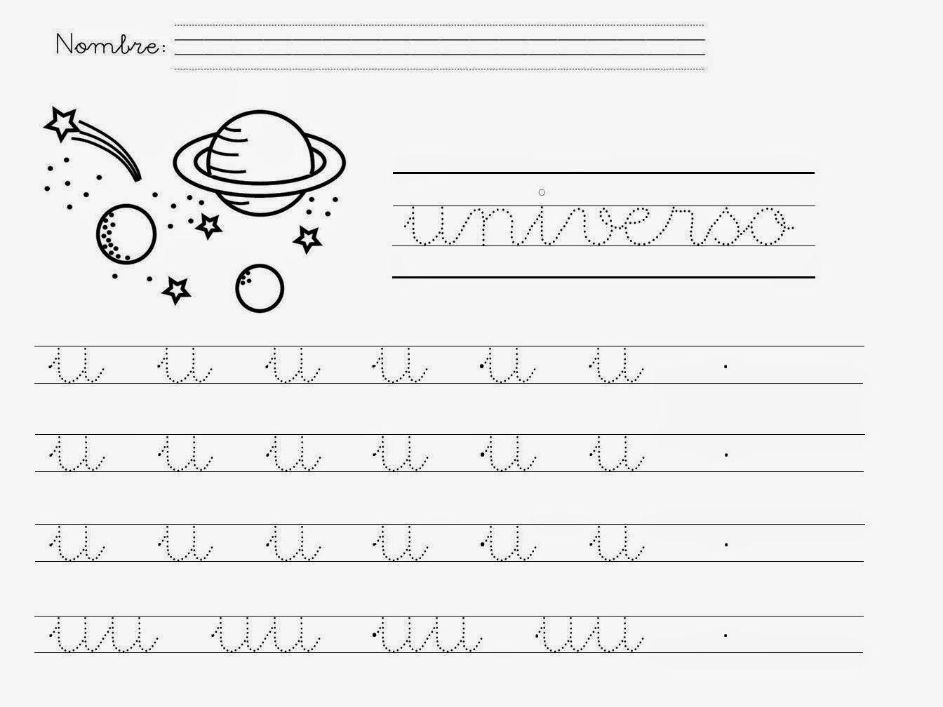 Mi Mundo Infantil Las Vocales