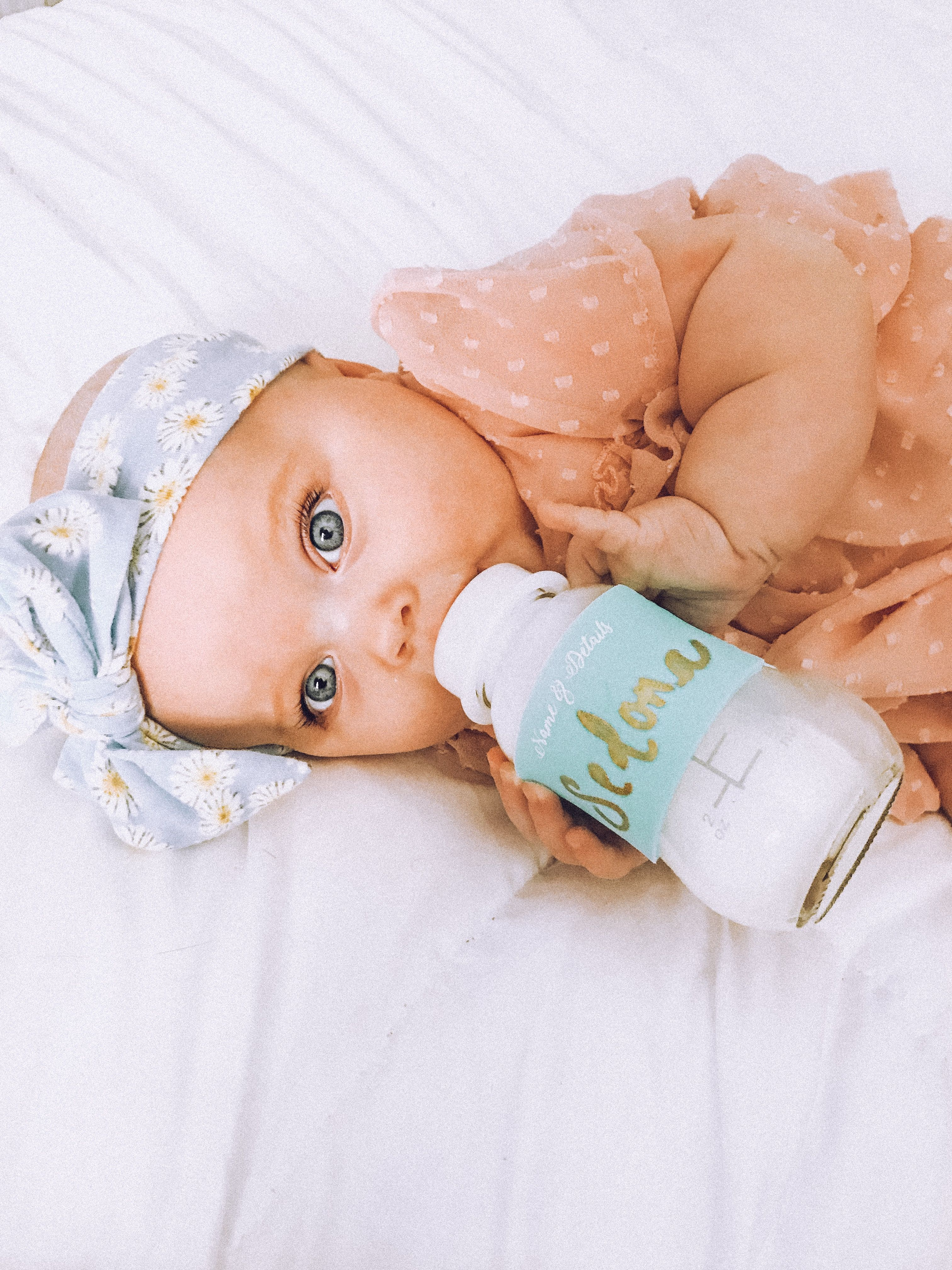 Instagram Aja Kadlubowski Baby Comforter Gold Sharpie Baby