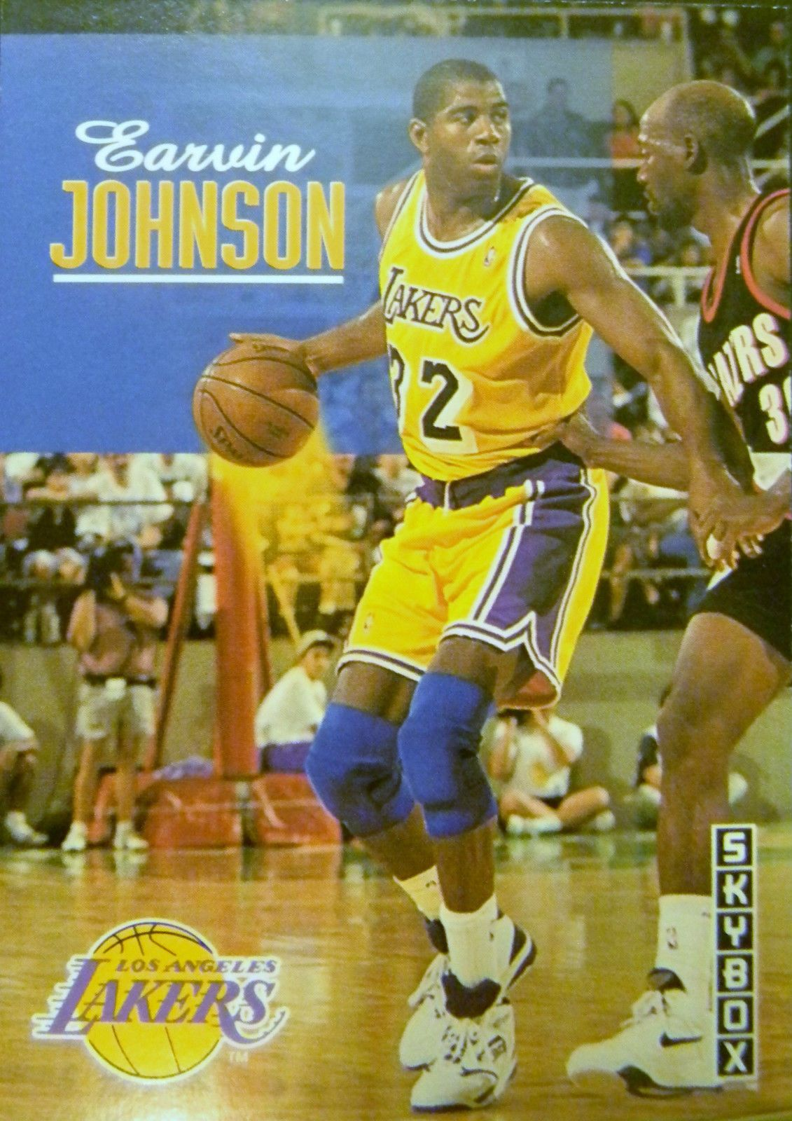 9c5c5de393 1992-1993 Skybox EARVIN MAGIC JOHNSON Card | Los Angeles Lakers ...