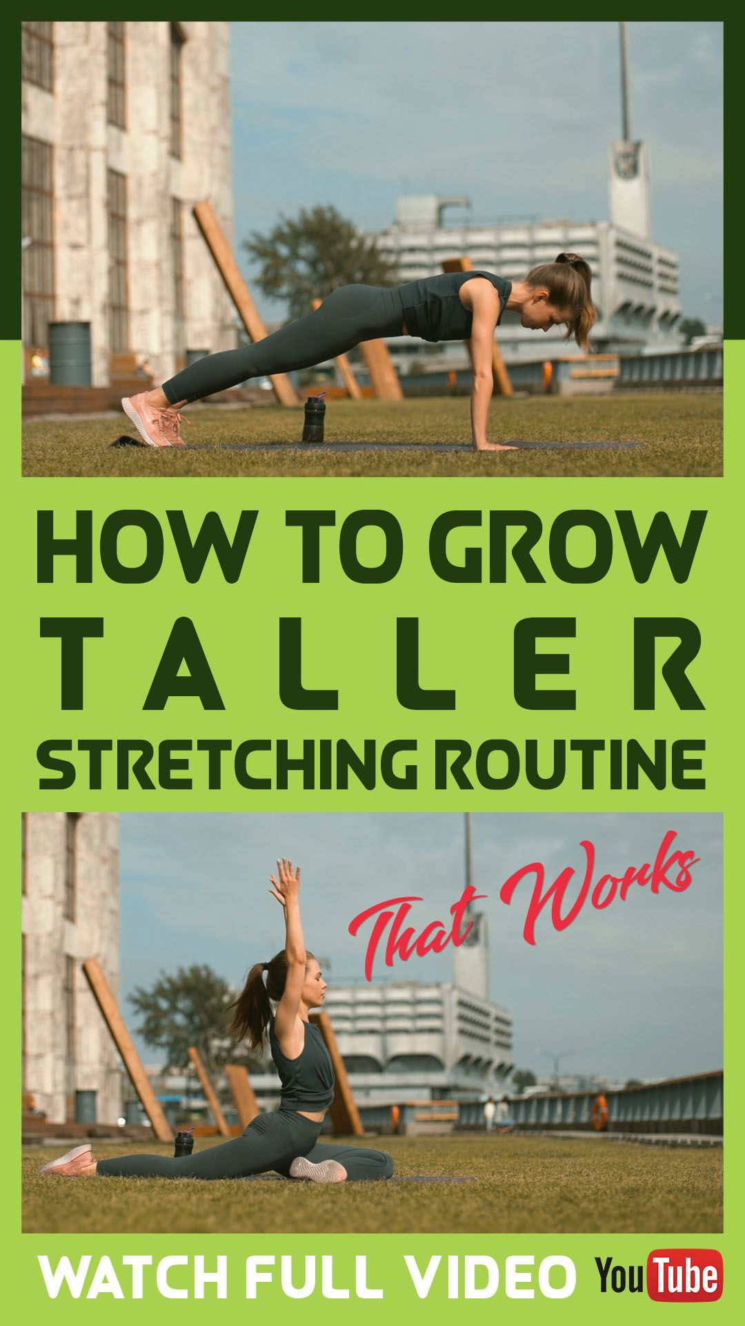 How To Grow Taller   Stretching Routine That Works