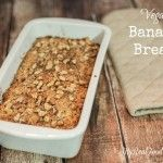 Vegan Banana Bread - My Real Food Family