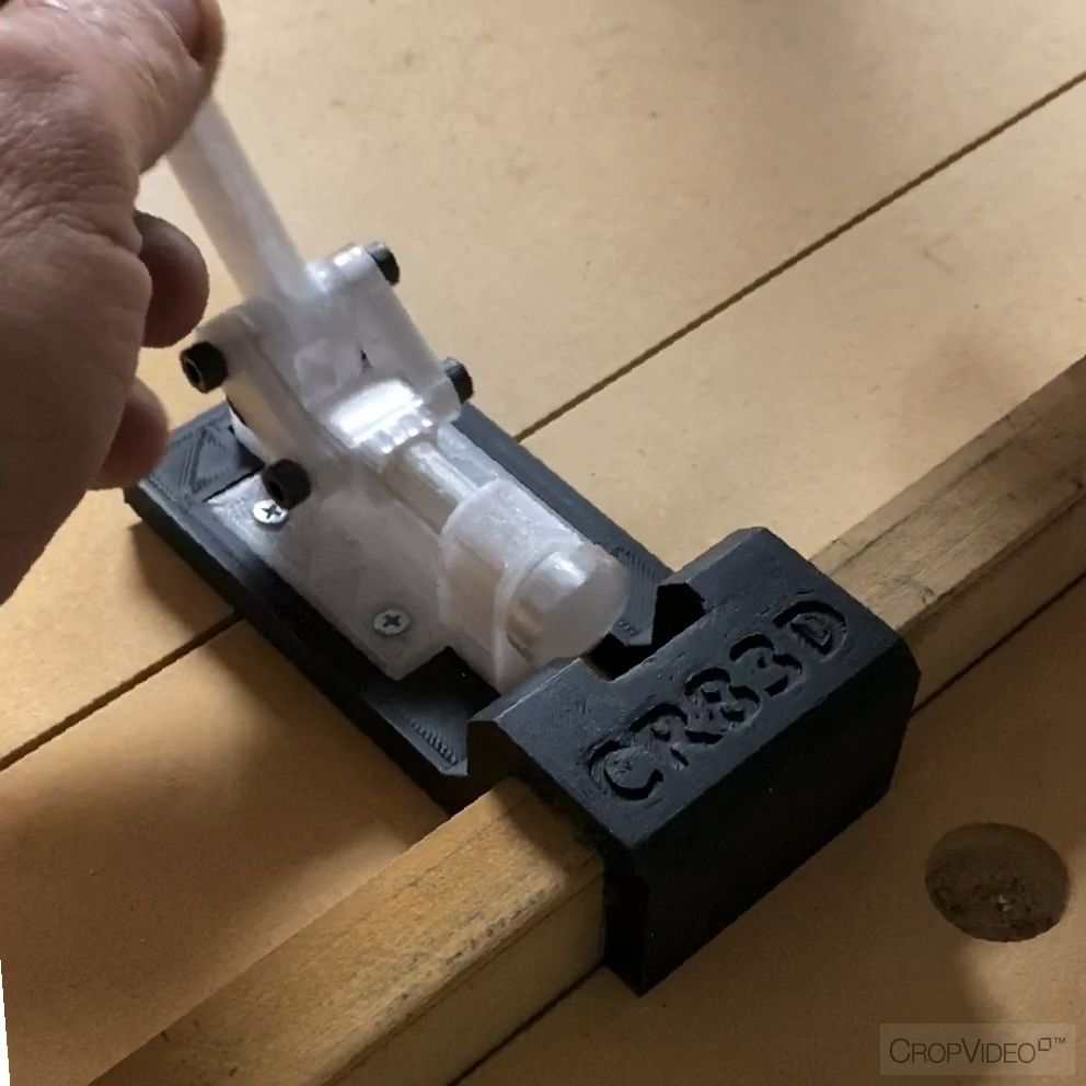 Radial Arm Saw Fence Stop