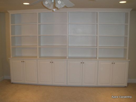 cabinetry and shelving portfolio built in shelving and cabinet ...