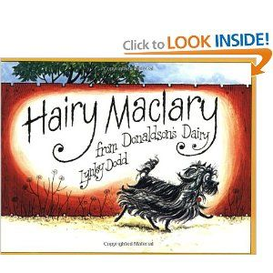 My absolute favorite rhyming books for kids. The series is from New Zealand, so if you buy this as a gift for a new baby or preschooler, you'll be sure they don't already have it! |Hairy Maclary from Donaldson's Dairy