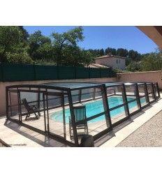 Abri de piscine Mi-Haut Sheltom