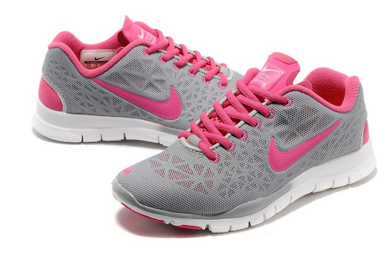 nike womens running shoes grey and pink
