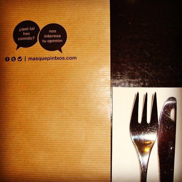 ¿Qué tal has comido? Cuéntanoslo en www.masquepintxos.com y en redes sociales