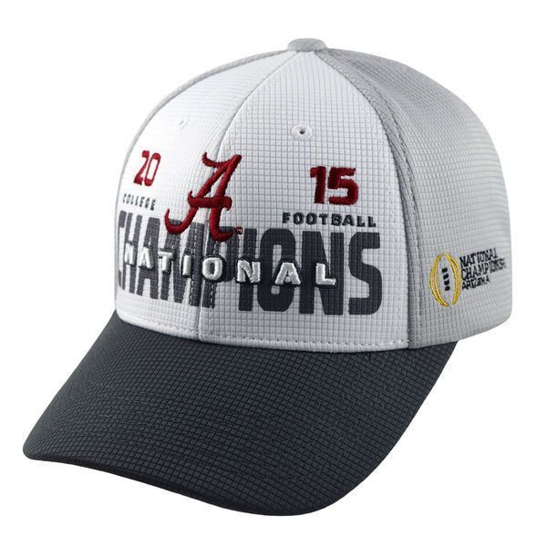 49277646f3a Celebrate in style with this Top of the World Alabama Crimson Tide College  Football Playoff 2015 National Champions hat.