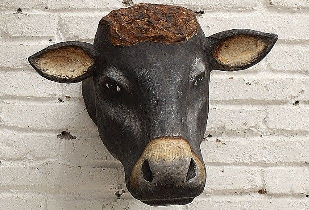 Cow Head Wall Decor Cow Home Decor Mounted Cow Head Want No