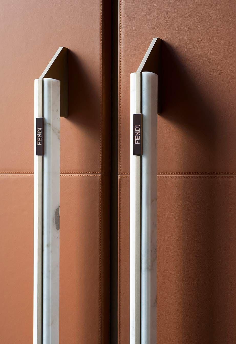 Fendi Designs Kitchens Now And You Re Going To Want Everything Door Handle Design Door Handles Kitchen Door Handles