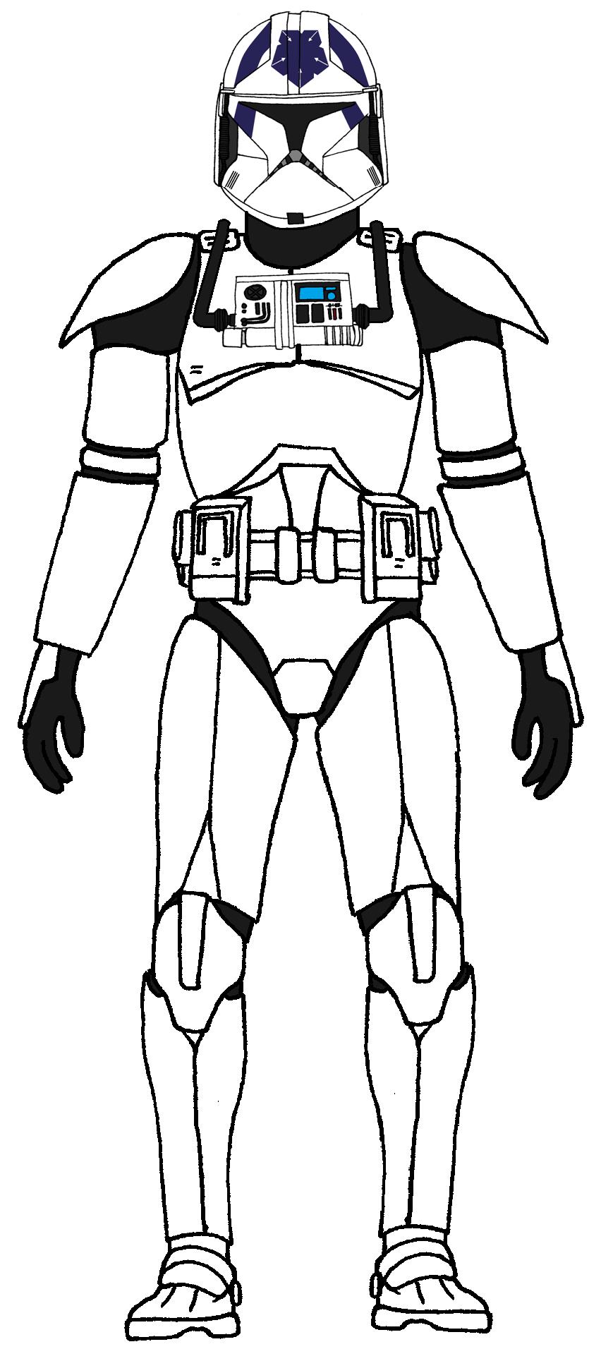 Clone Trooper Pilot Slammer | star wars | Pinterest | Soldados ...
