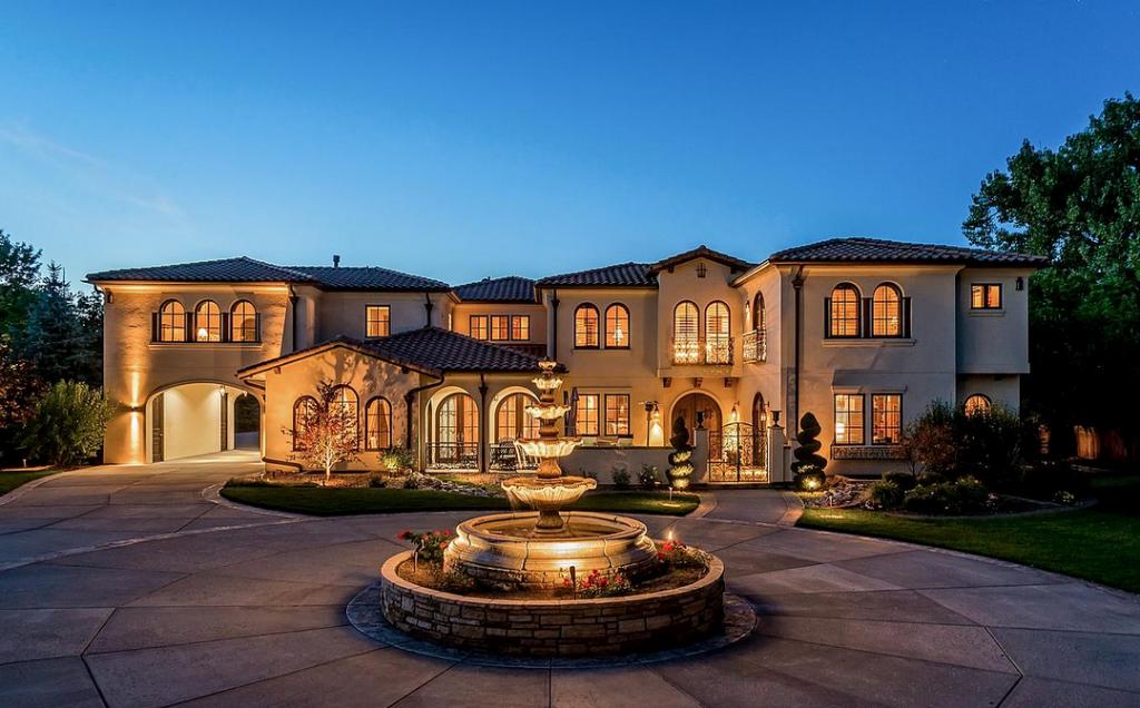 3 Million 13 000 Square Foot Italian Inspired Mansion