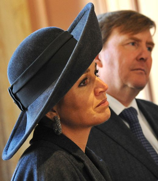 Dutch King Willem-Alexander and Queen Maxima attend a regional visit to the Dutch province of West-Brabant in Bergen op Zoom on February 16, 2016, focused on social and economic matters.