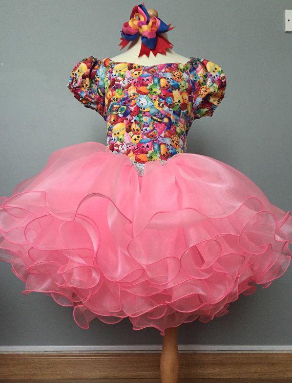 05e1470d9 Vestido de cumpleaños Shopkins por TUTUBUGAbuDhabi en Etsy   Fiestas ...