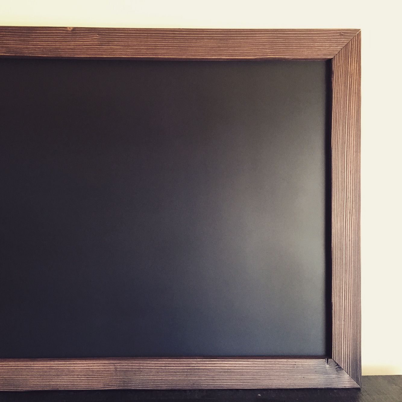 MAGNETIC Framed Chalkboard 48