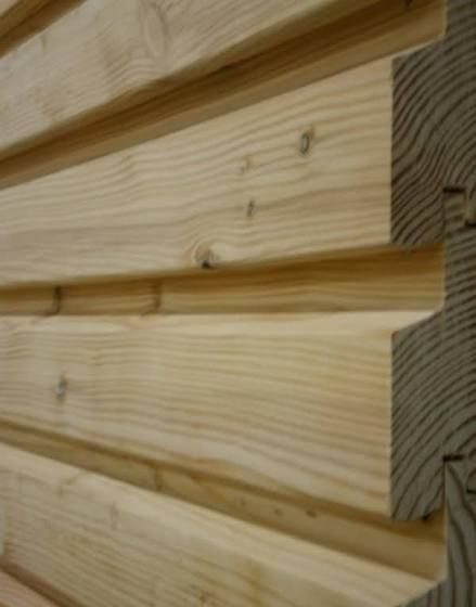 Holztuer Aussen Holzverkleidung Fassade Gartenhutte Holz Hausverkleidung