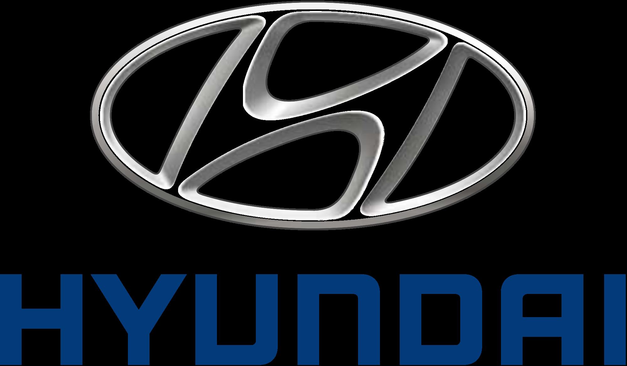 Hyundai Logo Vector Transpa Background Diyloesigns