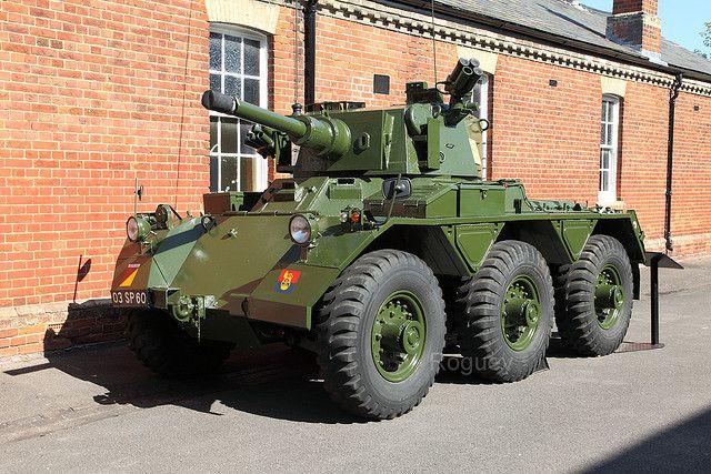 Alvis Saladin Armoured Car, via Flickr.
