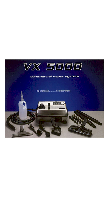 Vx5000 Home Of The Vx 5000 Steam Cleaner Best Commercial