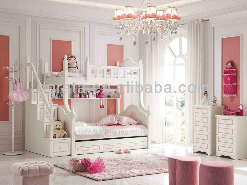 2013 Moderne Barbie Lit Superpose Rose Pour Les Filles Est Faite