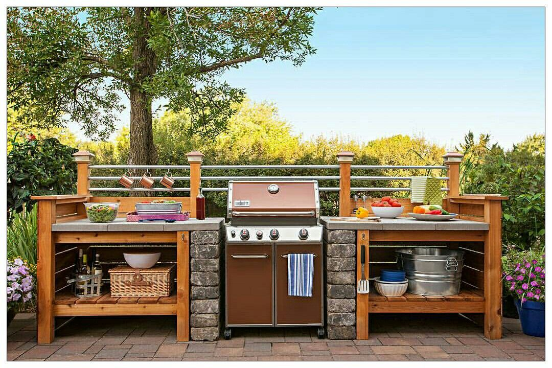 grill station outdoor cooking snacks pinterest