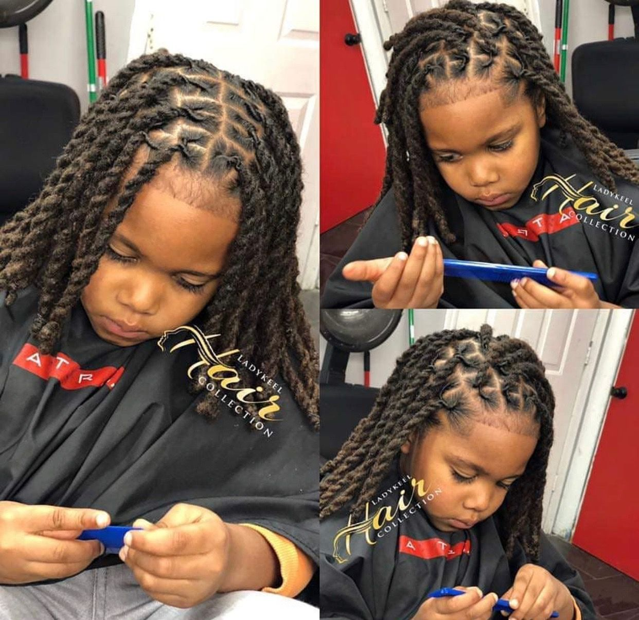 Pin By C Baby On Family Children Friendship Kids Hairstyles Boy Braids Hairstyles Braids For Boys