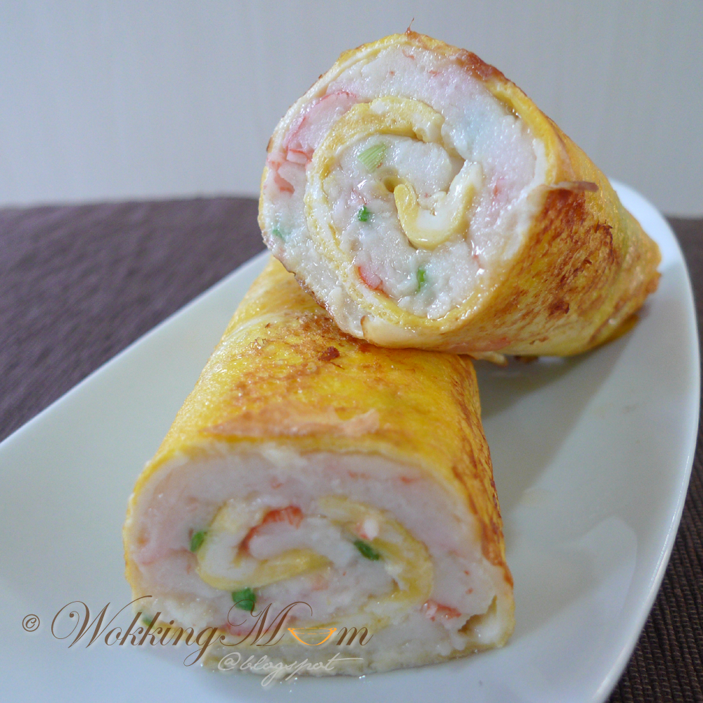 Lets get wokking fish paste egg roll singapore food fish paste egg roll singapore food forumfinder Image collections