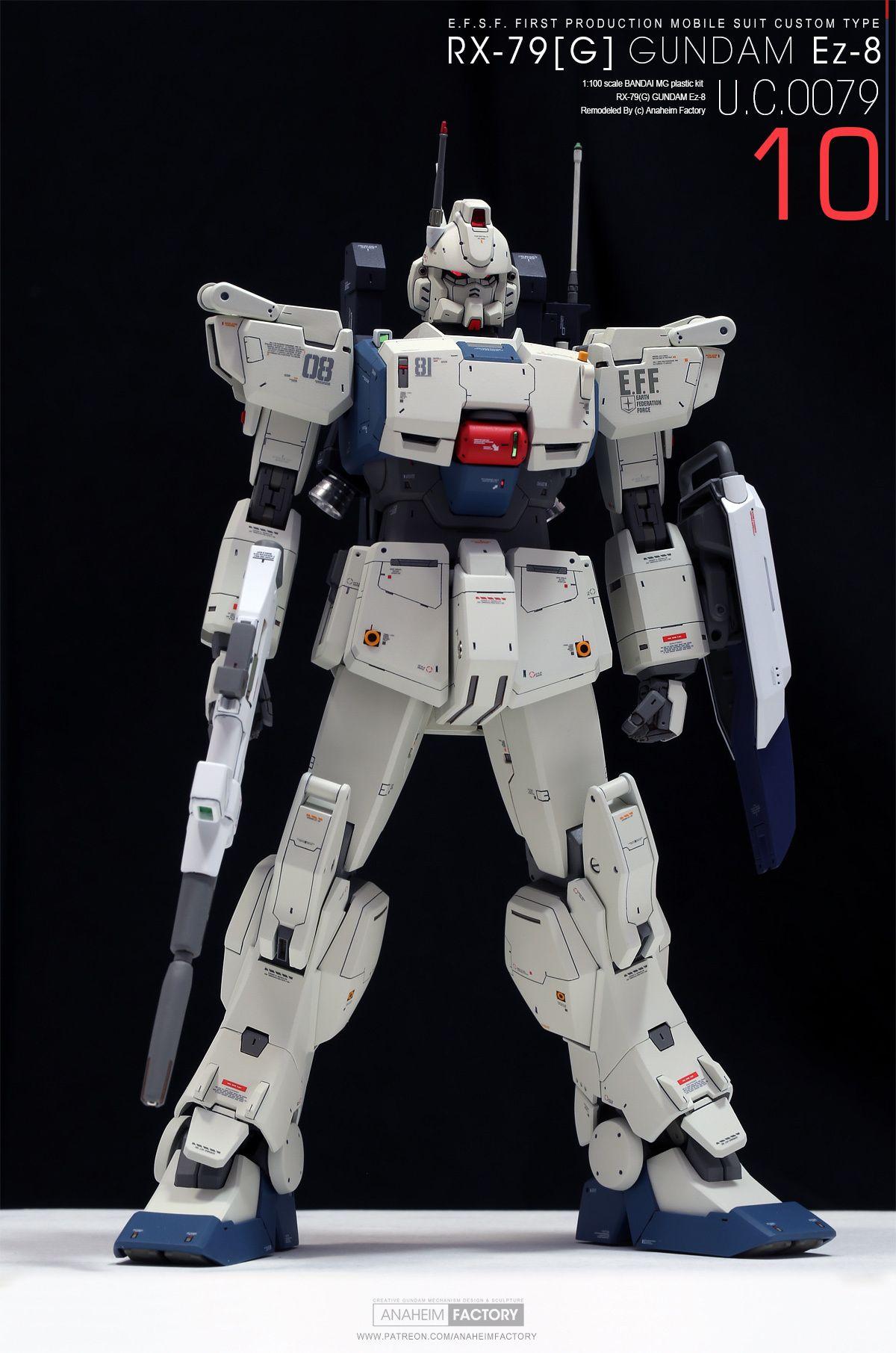 10 [ROLL OUT] RX79[G] GUNDAM Ez8 Gundam, Gundam model