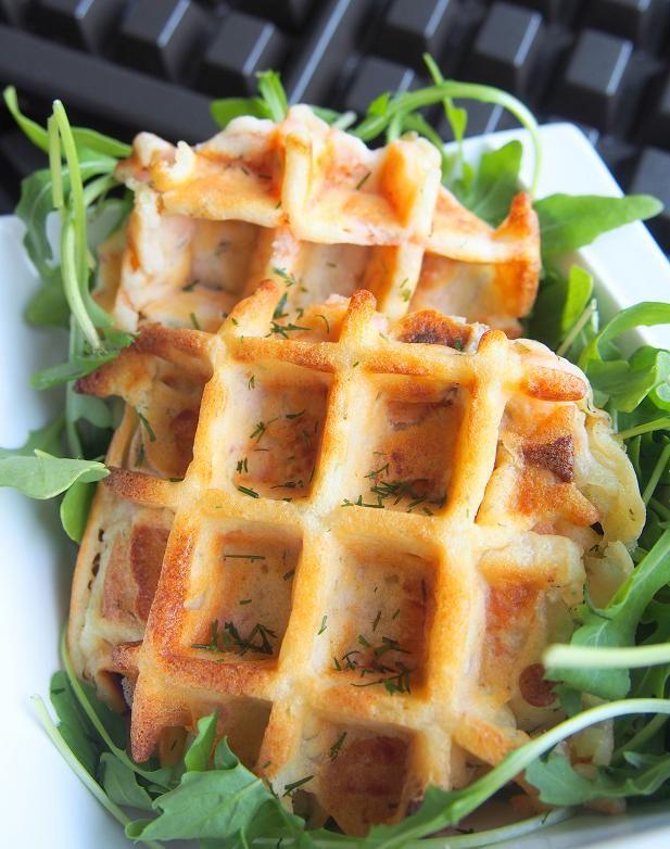 idée de repas pour le soir Les gaufres salées : une idée sympa pour un repas du soir  idée de repas pour le soir