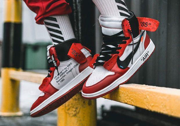 Off White Air Jordan 1 Releases On September 1st Sneakers Men
