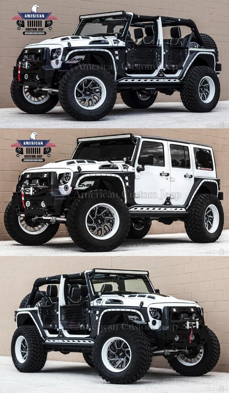 2018 Jeep Wrangler Custom Unlimited Sport Utility 4 Door Custom