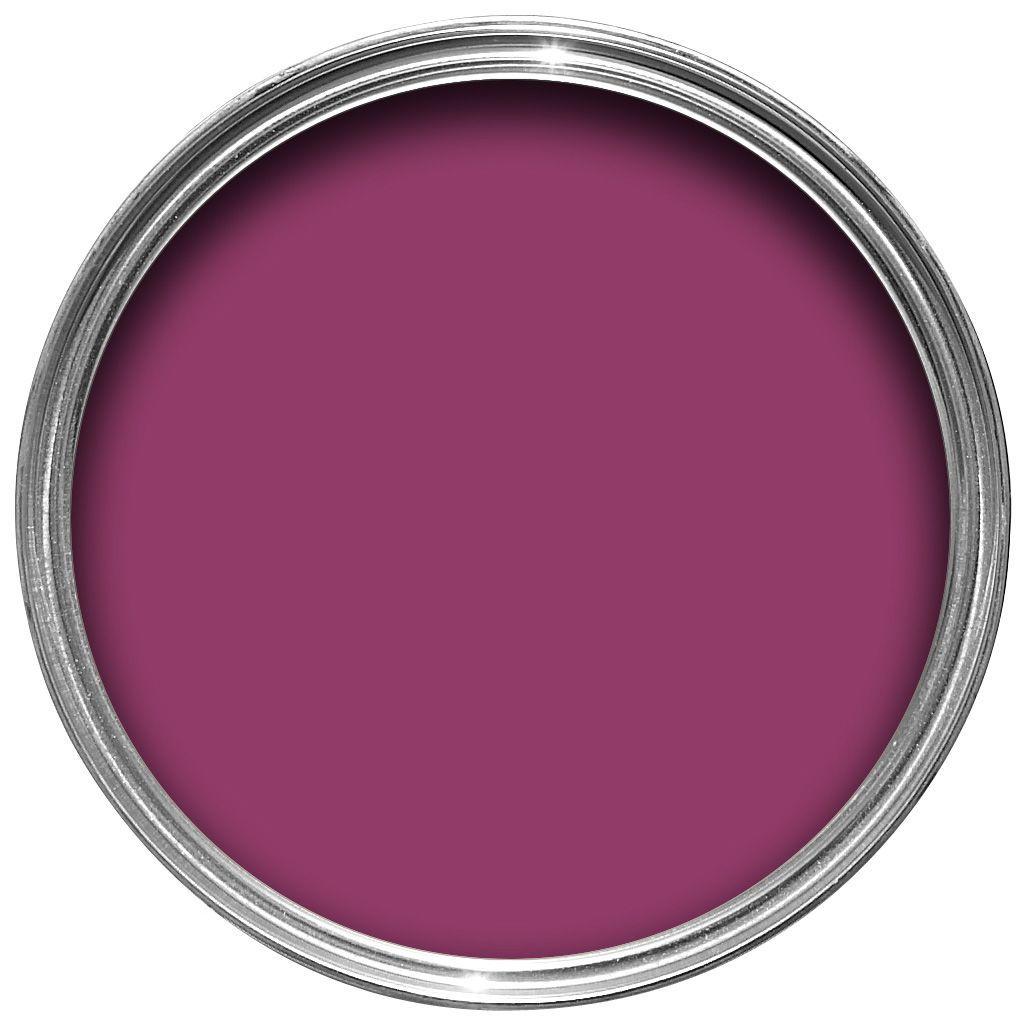 New front door colour - Couleur violine peinture ...