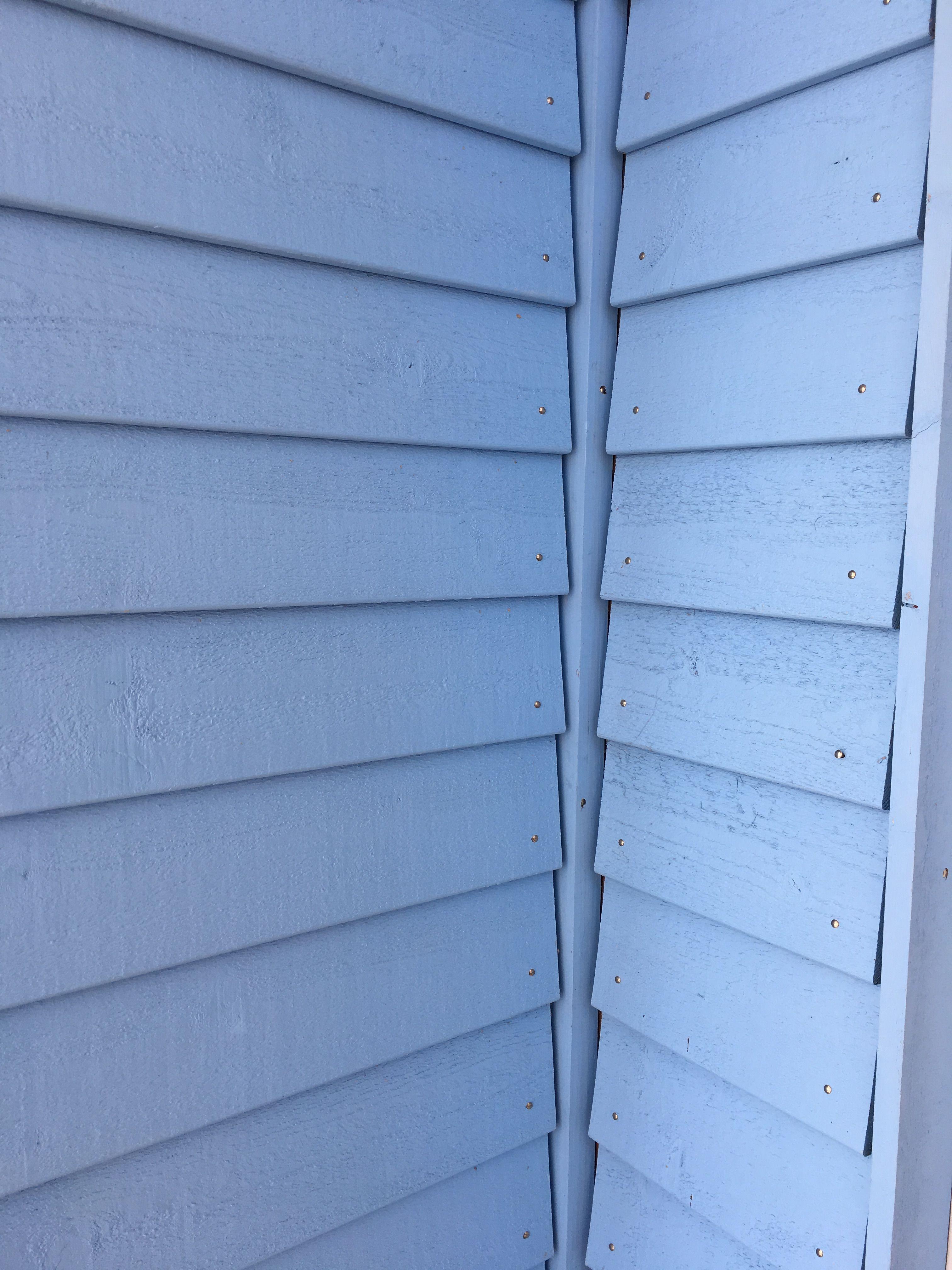 Fassade Blau Oberflachenbehandelt Holzfassade Fassade Holz