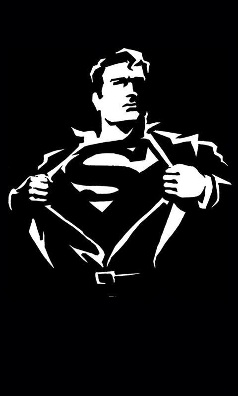 Black Superman Wallpapers Wallpapers 3D Wallpapers Pinterest