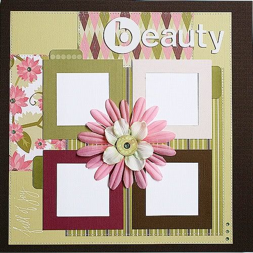 Love Bsimple Scrapbook Layouts B More