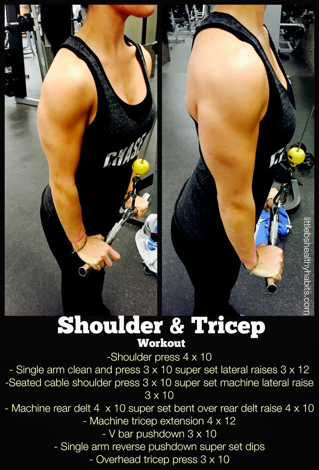 Shoulder And Tricep Workout Winter Workout Plan
