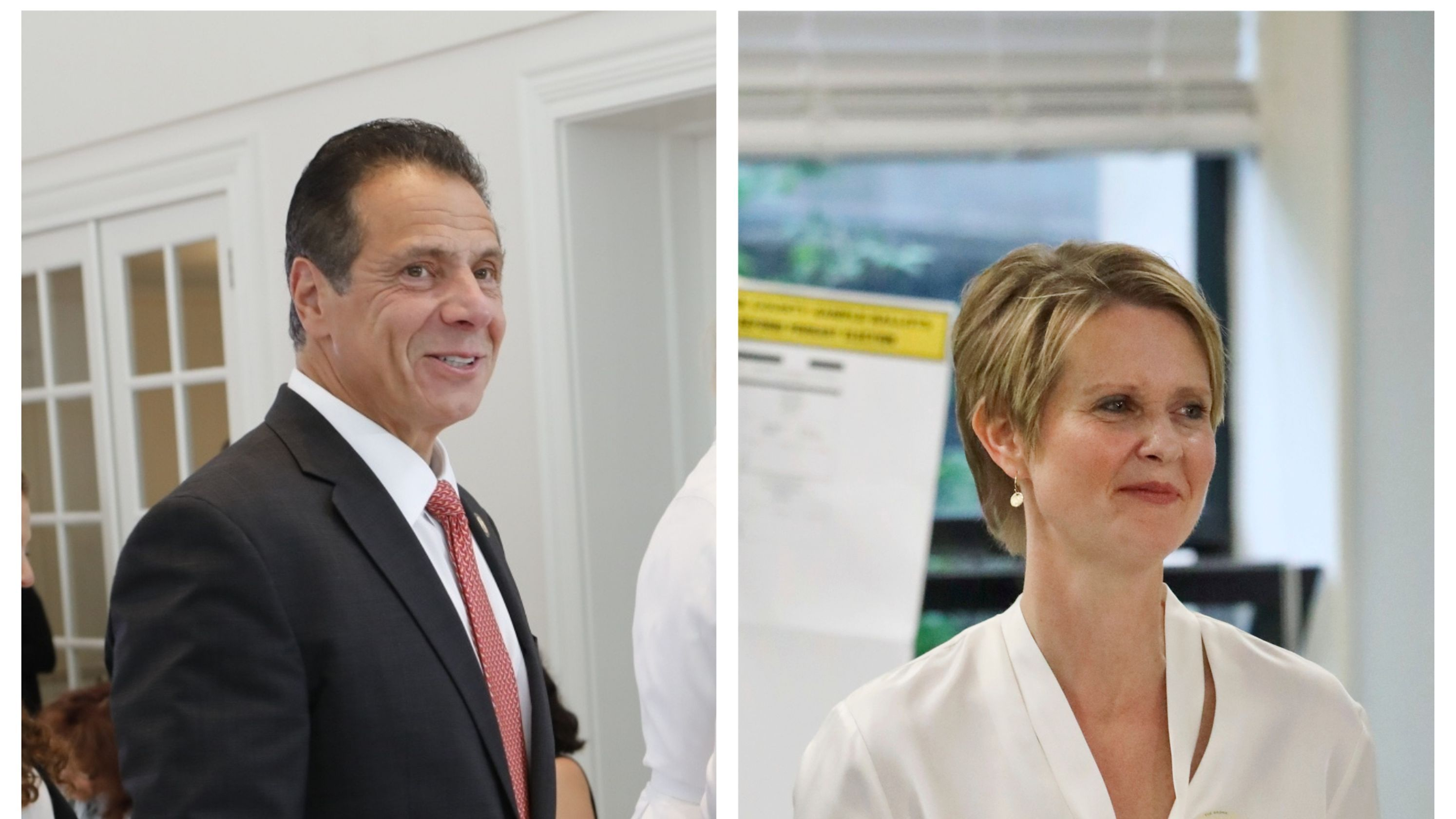 New York Primary Andrew Cuomo Cruises To Easy Win Over Cynthia Nixon Primary Results Andrew Cuomo Viral