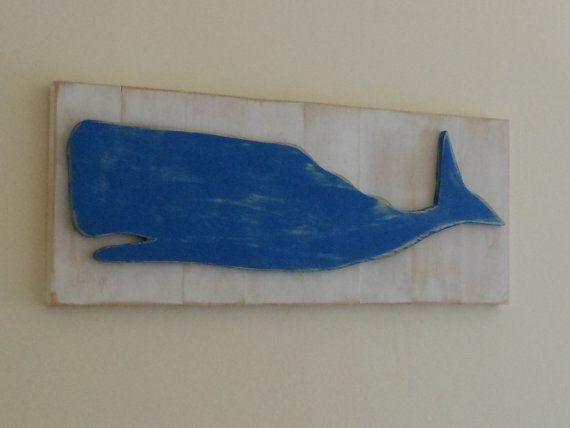 Whale Plaque by theoldewoodstove on Etsy, $28.00