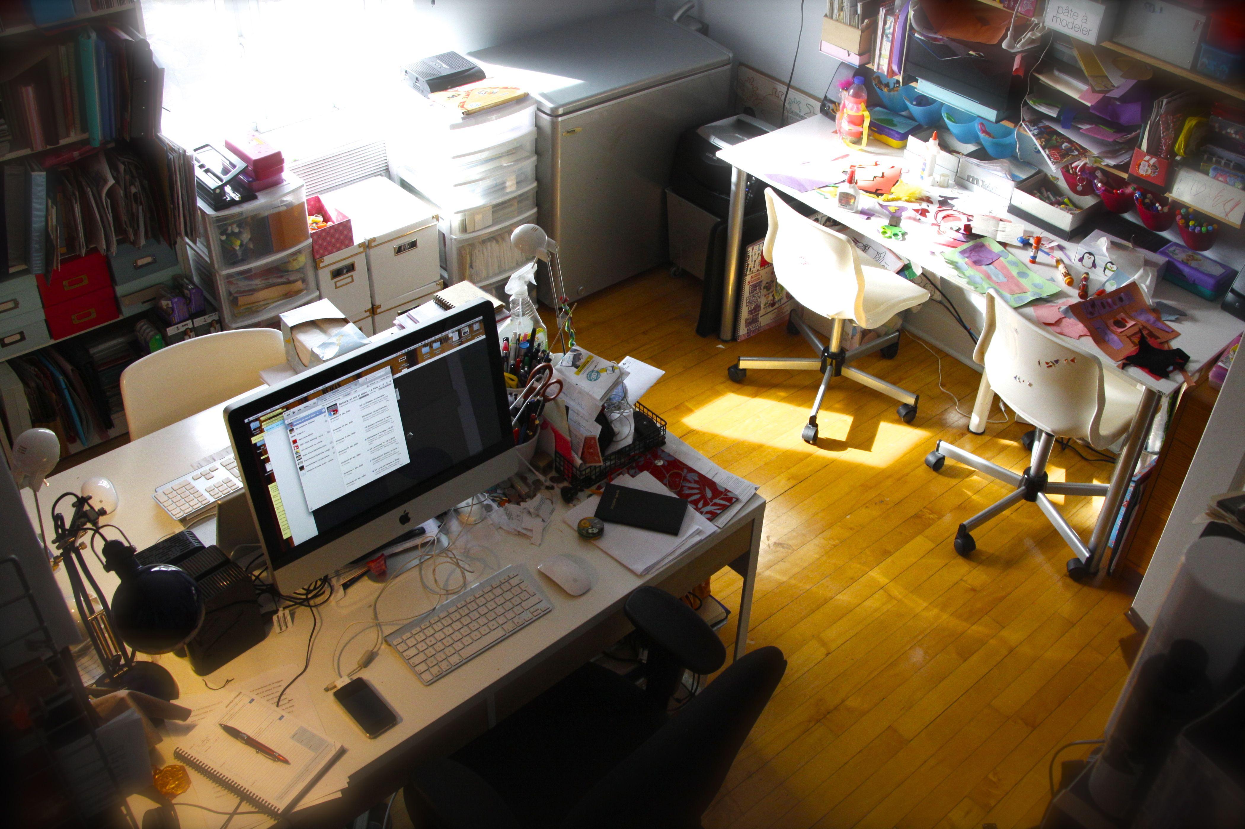 Les bureaux les plus bordeliques