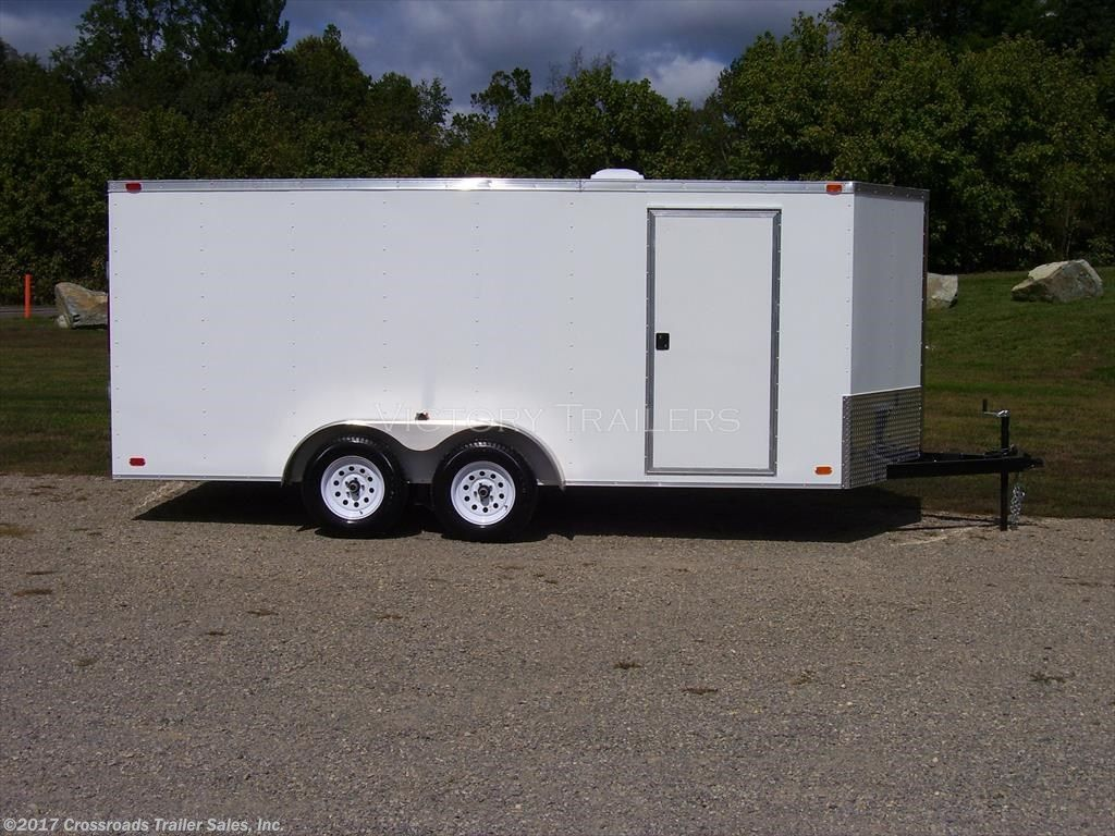 This New 2017 Nexhaul 7x14 Enclosed Cargo Trailer is ready