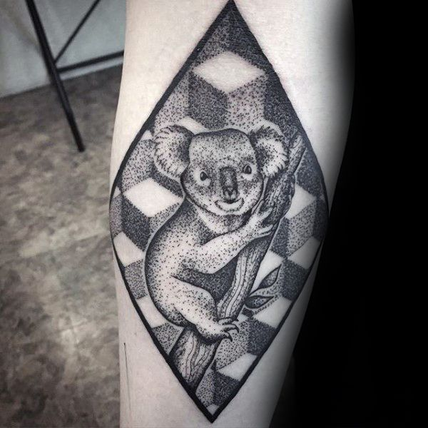30 Koala Tattoo Designs For Men Wild Animal Ink Ideas Tattoos